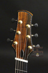 Doerr guitar headstock