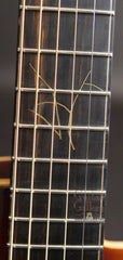 Thorell archtop fretboard