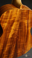 Leach guitar with mastergrade koa back & sides