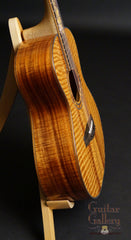 Leach koa guitar side