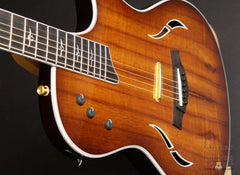 Taylor T5 custom guitar koa top