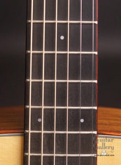 used Taylor TF guitar fretboard