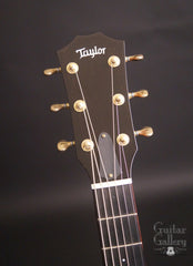 Taylor TF BTO guitar headstock