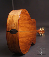 Taylor TF Madagascar rosewood guitar end