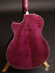 purple Taylor guitar