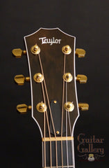 Taylor 614ce purple guitar headstock