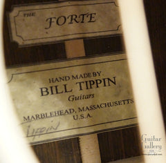 Tippin Forte guitar label