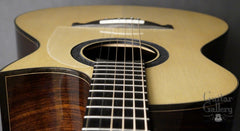 Tom Sands OM cutaway guitar