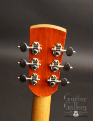 Tom Sands guitar headstock back