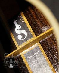 Tom Sands guitar label