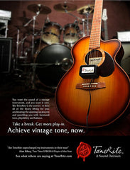 McKnight Guitar in ToneRite Ad