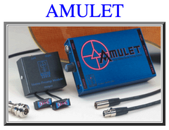 used Kraut custom guitar Amulet pickup system