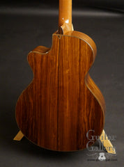 Tony Vines Artisan GC guitar Bolivian rosewood back