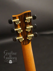 Tony Vines Artisan GC guitar headstock back