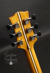 Applegate Guitar Gallery 20th Anniversary Guitar headstock back