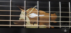 Craig Lavin horse inlay on Applegate guitar