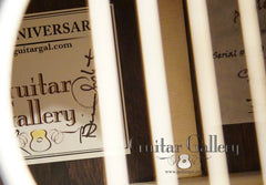 Applegate Guitar Gallery 20th Anniversary Guitar labels