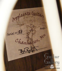 Applegate guitar label