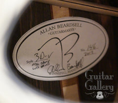 Beardsell guitar label