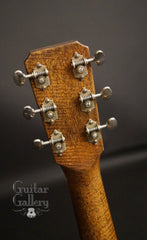 Bent Twig Sapling guitar headstock back