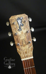 Bent Twig Parlor guitar headstock
