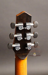 Alberico guitar headstock