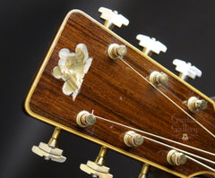Froggy Bottom Brazilian rosewood guitar headstock