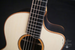 Lowden Ancient Bog F50c guitar at Guitar Gallery