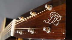 Borges OM-28 Guitar headstock