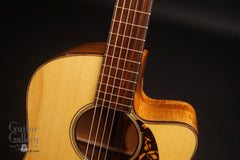 Brondel D-1c Koa guitar at Guitar Gallery