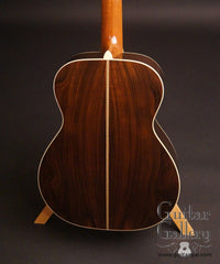 Sexauer FT-15-es Brazilian rosewood guitar back
