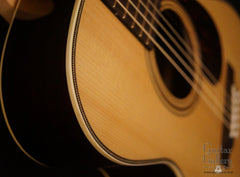 Sexauer FT-15-es Brazilian rosewood guitar detail