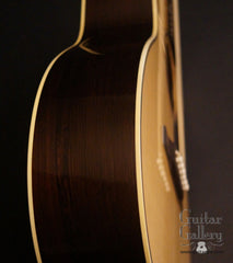 Sexauer FT-15-es Brazilian rosewood guitar side detail