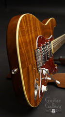 Brondel Honeycaster DC electric guitar tail