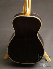 Reede Parlor guitar African Blackwood back