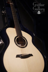 Caton Carolina guitar inside custom case
