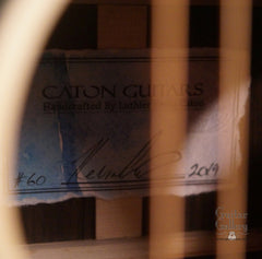 Caton Carolina guitar label