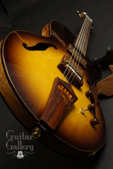 CF Holcomb Vellutini Archtop