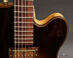CF Holcomb Vellutini Archtop cutaway