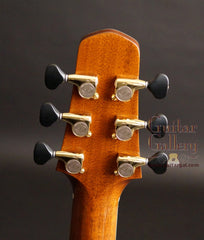 Claxton guitar headstock