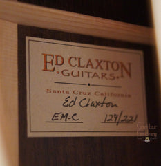 Claxton guitar label