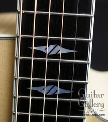 Collings SJ guitar fretboard