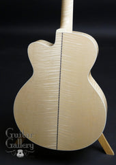 Collings SJc guitar maple back