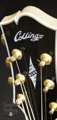 Collings SJ guitar headstock