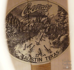 Collings SJ guitar label