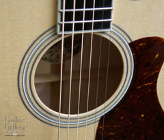 Collings SJ guitar rosette