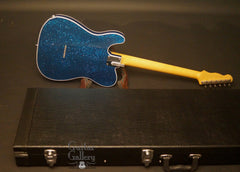 Crook T-style electric guitar with case