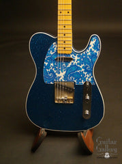 Crook T-style electric guitar paisley pickguard