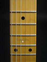 Crook electric guitar fretboard