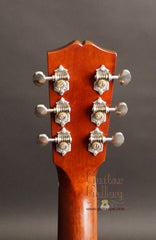 Ted Davis guitar headstock back view